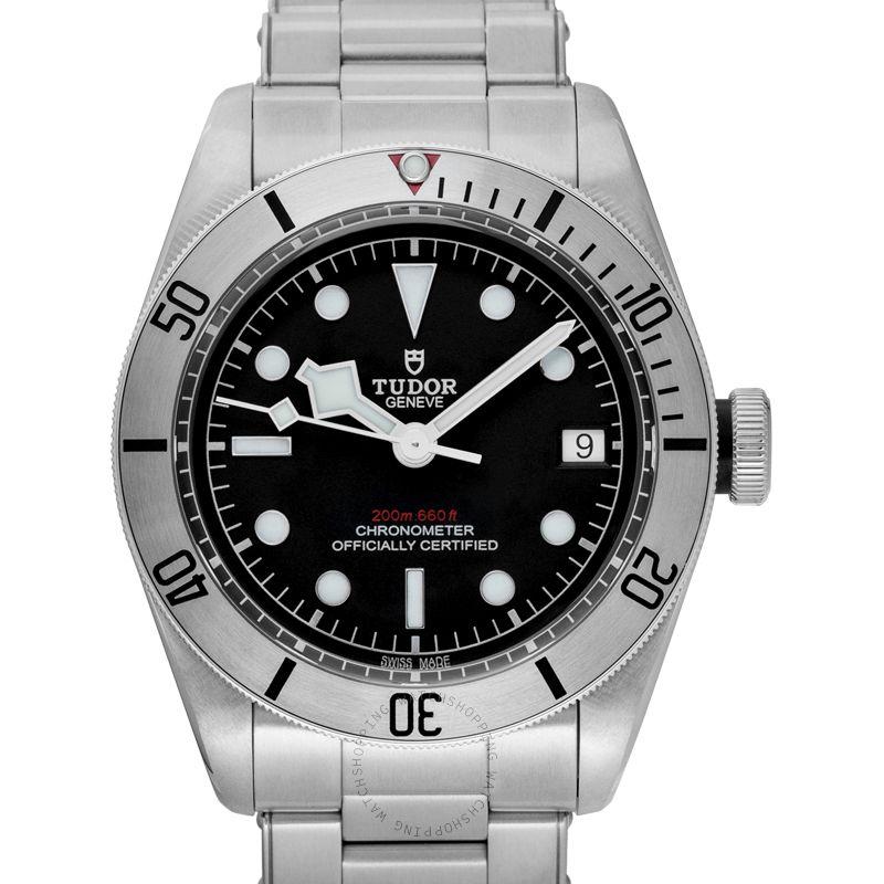 Tudor Heritage Black Bay Steel Automatic Black Dial Men's Watch 79730-0006