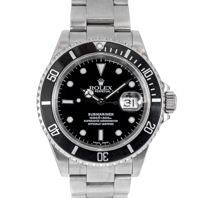Rolex Submariner 16610 Black_@_4306