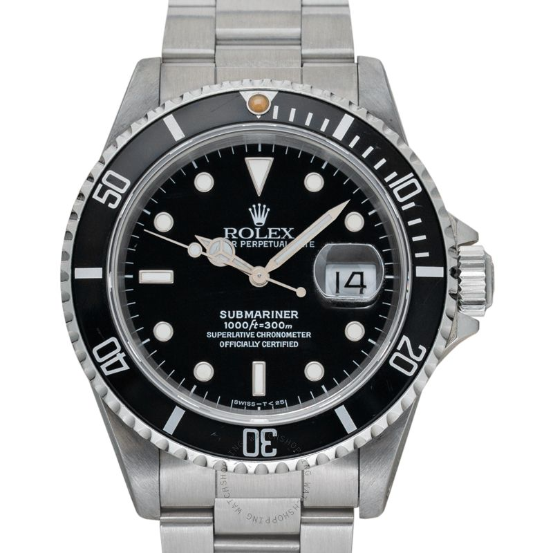 Rolex Submariner Date Black/Steel 40mm