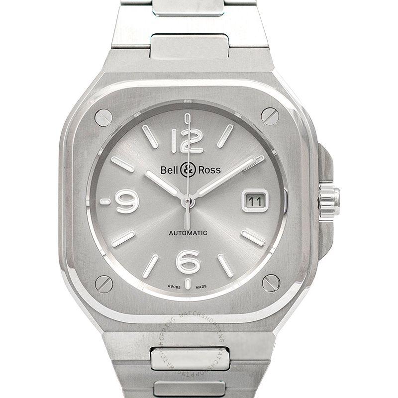 Bell & Ross Instruments BR 05 Grey Steel Men's Watch BR05A-GR-ST/SST