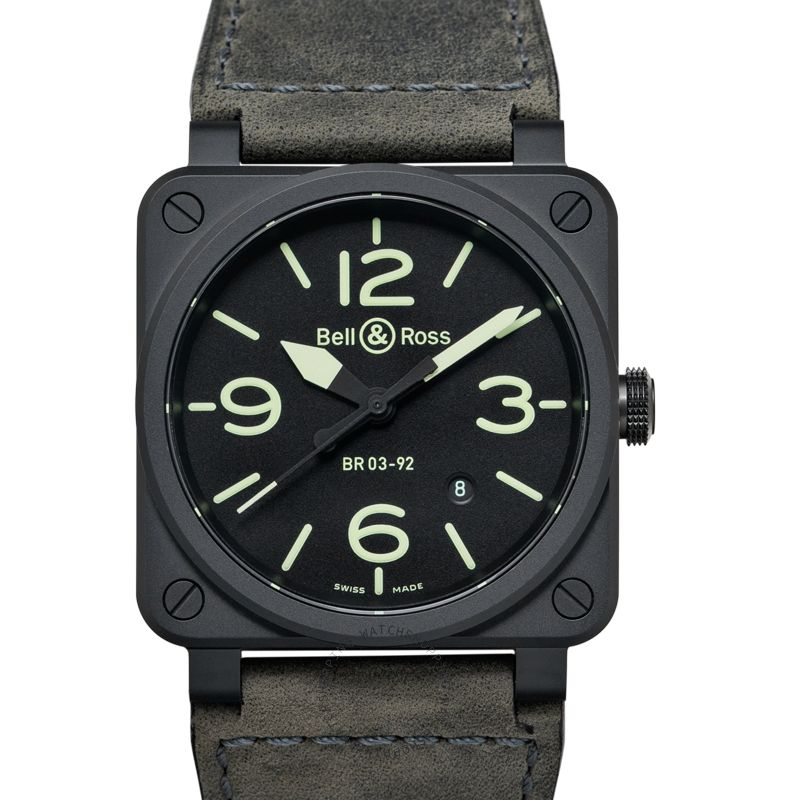 Bell & Ross Instruments BR0392-BL3-CE/SCA