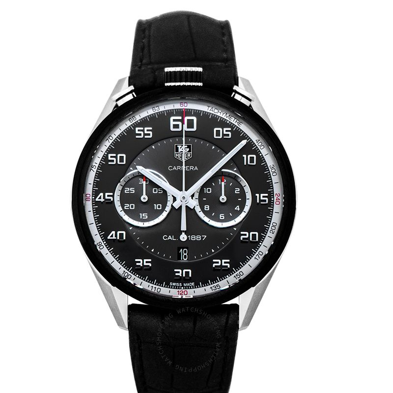 TAG Heuer Carrera Automatic Chronograph Black Dial Dial Men's Watch
