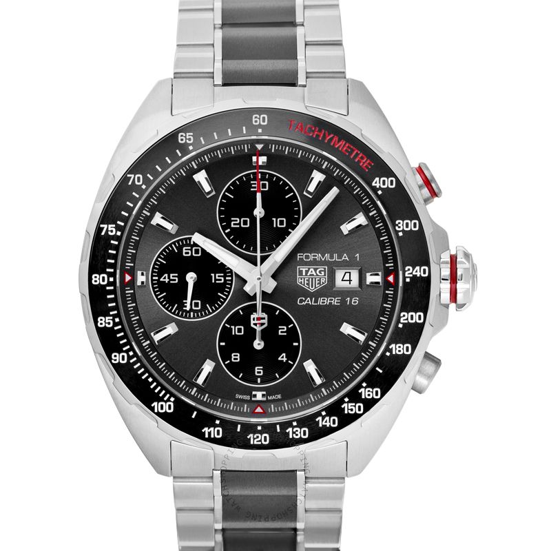 TAG Heuer Formula 1 Calibre 16 Automatic Grey Dial Men's Watch