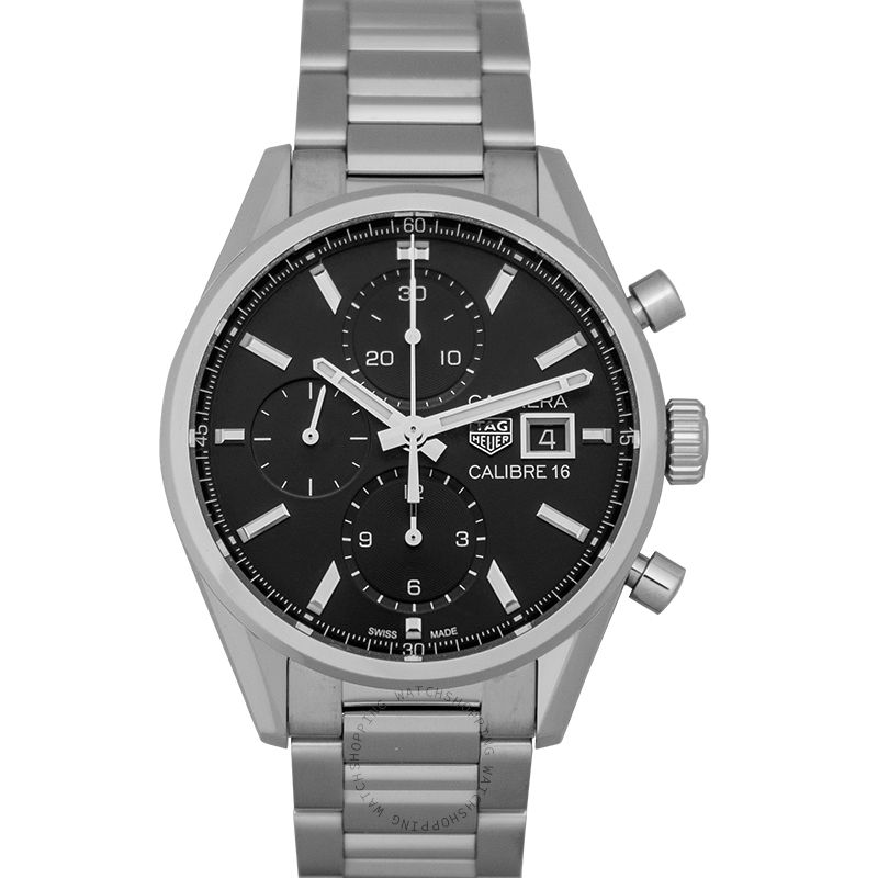 TAG Heuer Carrera Calibre 16 Automatic Black Dial Ladies Watch
