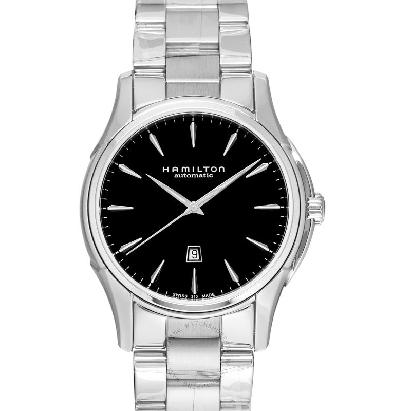 Hamilton Jazzmaster Viewmatic Automatic Black Dial Stainless Steel Ladies Watch