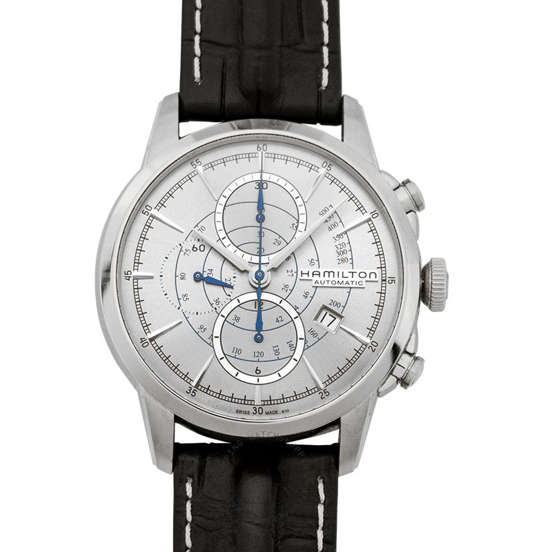 Hamilton American Classic Railroad Automatic Silver Dial Stainless steel Men's Watch H40656781