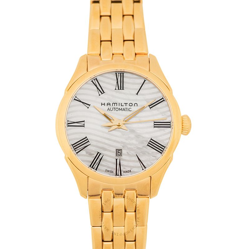 Hamilton Jazzmaster Automatic Mother of Pearl Dial 30mm