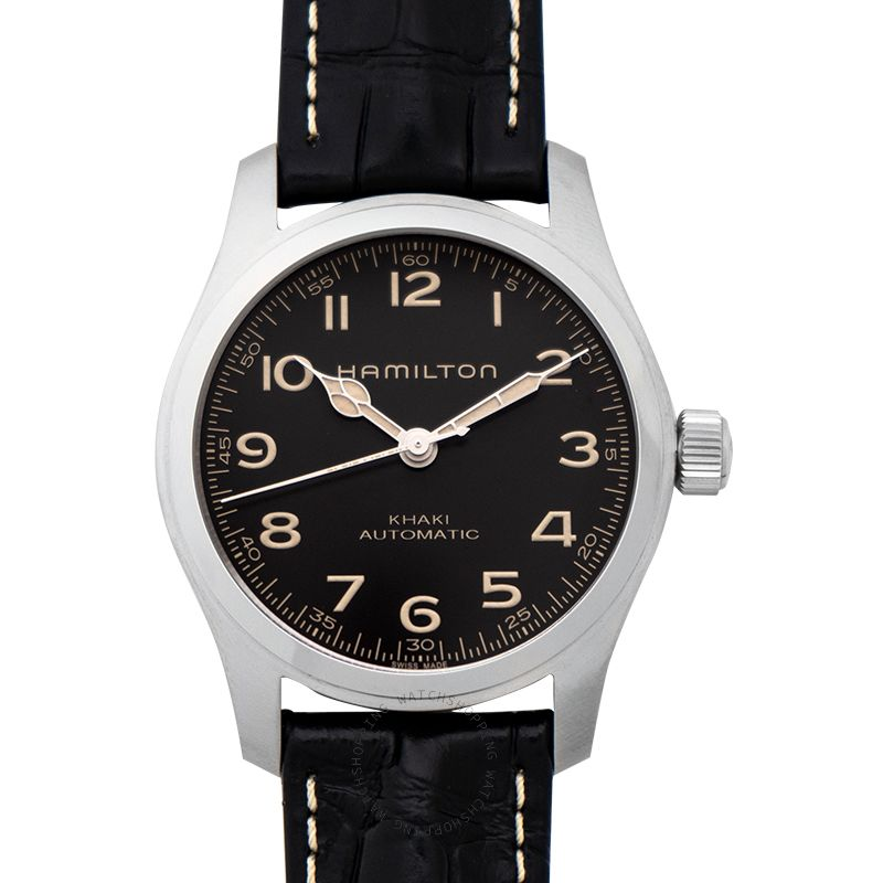 Hamilton Khaki Field Automatic Grey Dial Stainless steel Men's Watch H70605731