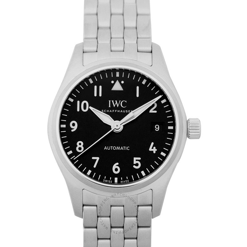 IWC Pilot's Watch Automatic 36 Automatic Black Dial Unisex Watch IW324010
