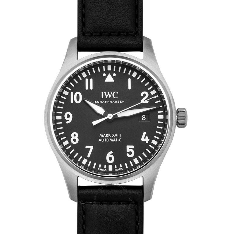 IWC Pilot's Watch Mark XVIII Automatic Black Dial Men's Watch
