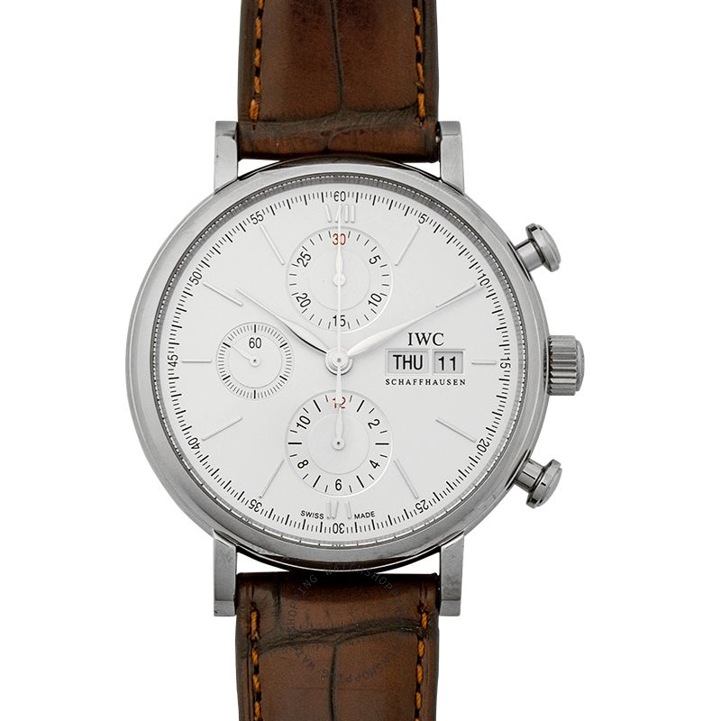 IWC Portofino Chronograph Edition 150 Years Automatic Silver Dial Men's Watch IW391027