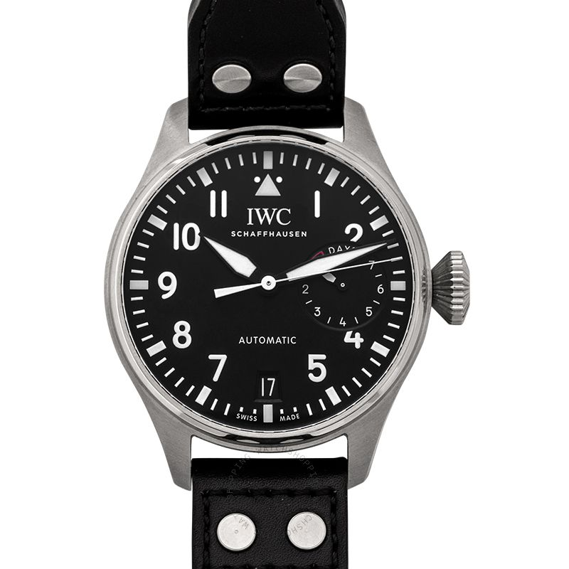 IWC Big Pilot's Watch Automatic Black Dial Men's Watch