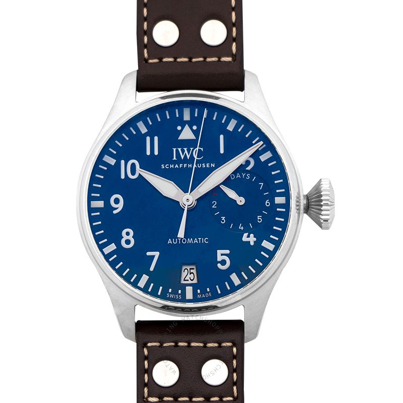 IWC Big Pilot Le Petit Prince Automatic Blue Dial Men's Watch/46.2mm