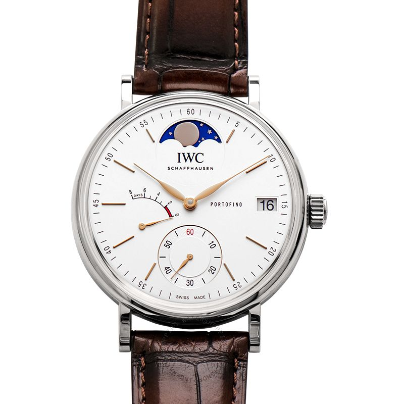 IWC IWC Portofino Silver Dial Men's Hand Wound Watch IW516401