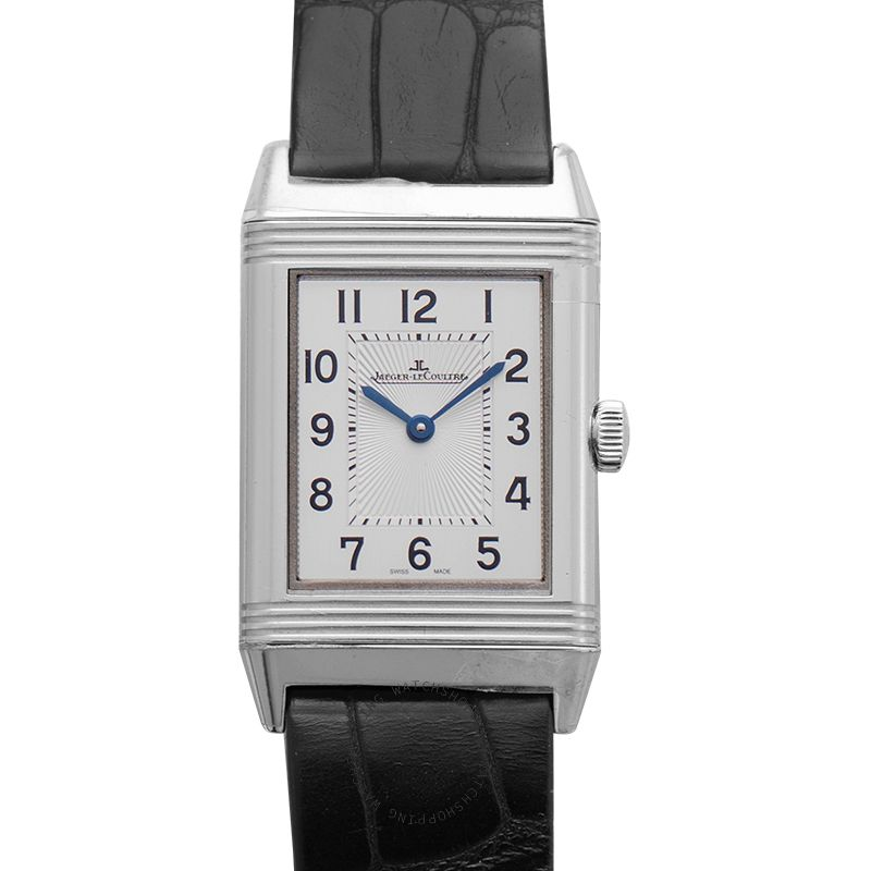 Jaeger LeCoultre Reverso Classic Medium Thin Manual-winding Silver Dial Men's Watch Q2548520