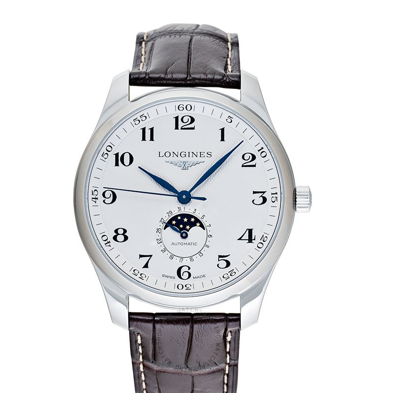 Longines The Longines Master Collection Moonphase Automatic Silver Dial Men's Watch L29194783