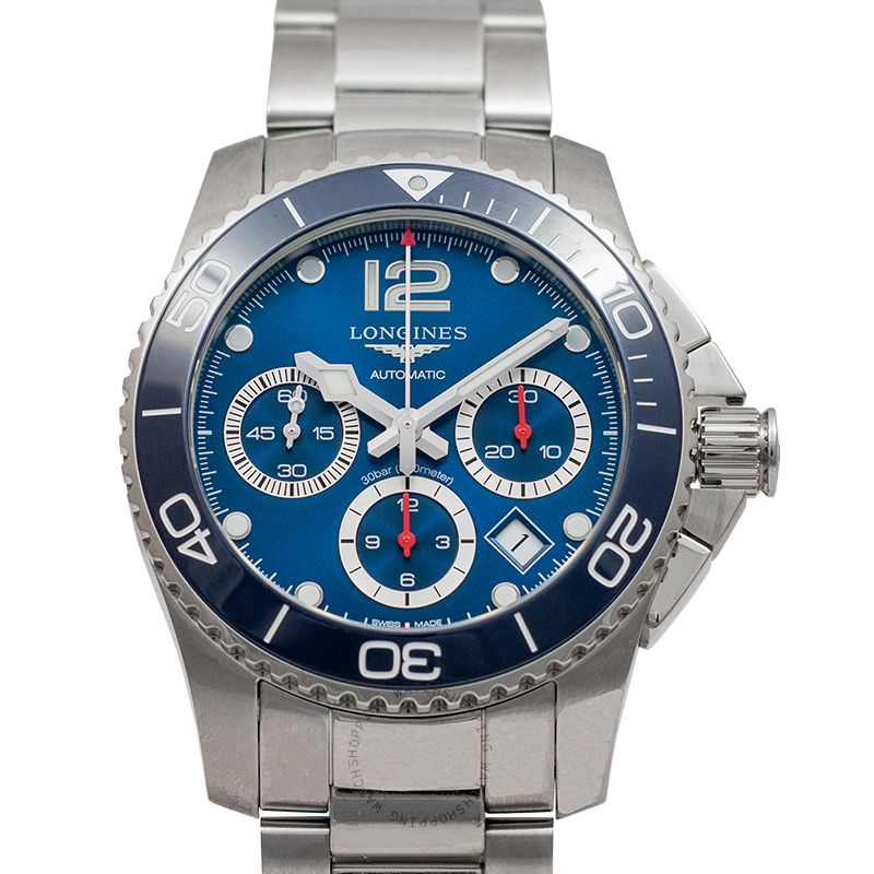 Longines Hydroconquest Automatic Blue Dial Men's Watch