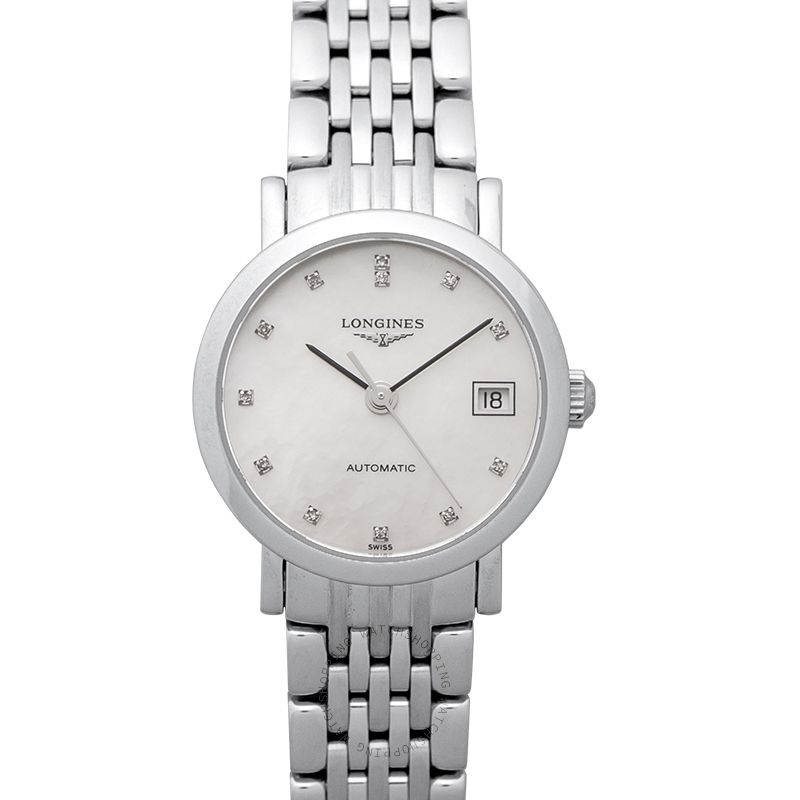 Longines The Longines Elegant Collection Automatic Diamonds Ladies Watch