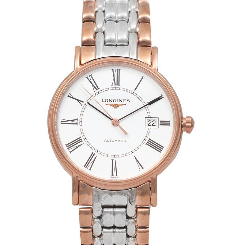 Longines Presence Automatic White Dial Men's Watch L49211117