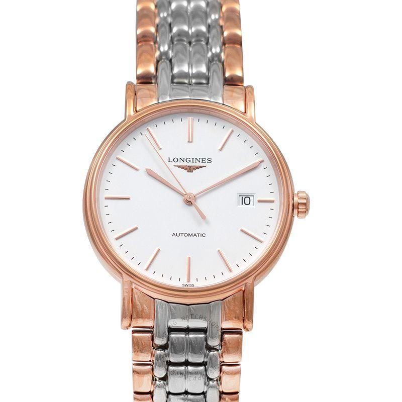 Longines Presence Automatic White Dial Men's Watch L49211127