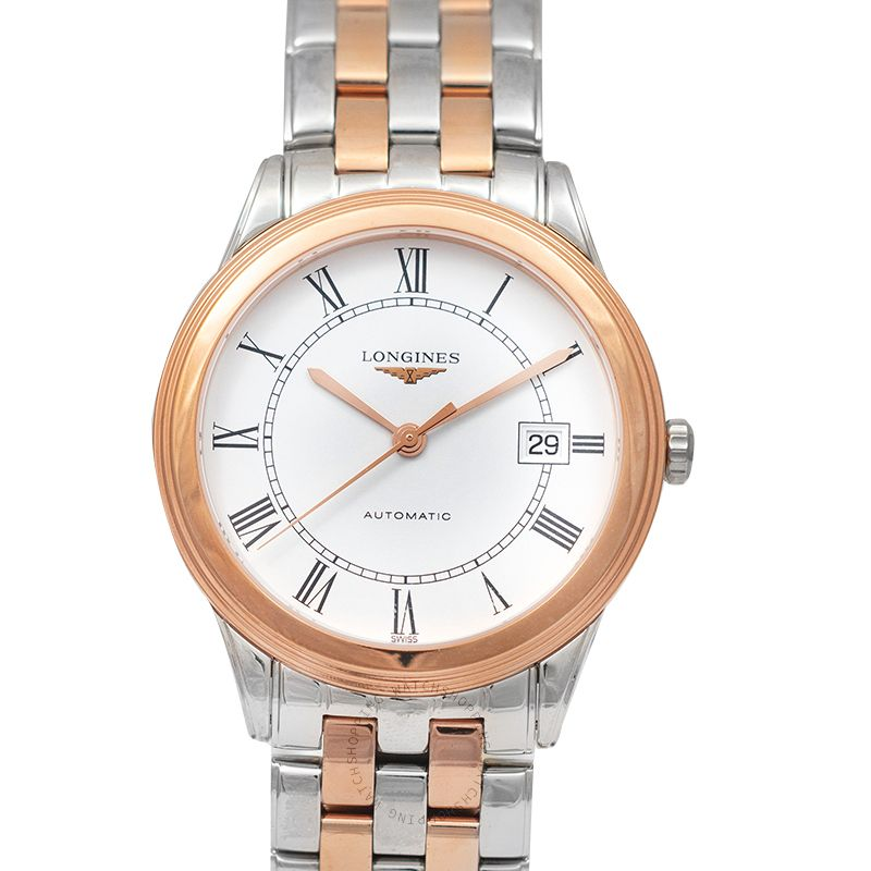 Longines Flagship Automatic White Dial Men's Watch L49743917