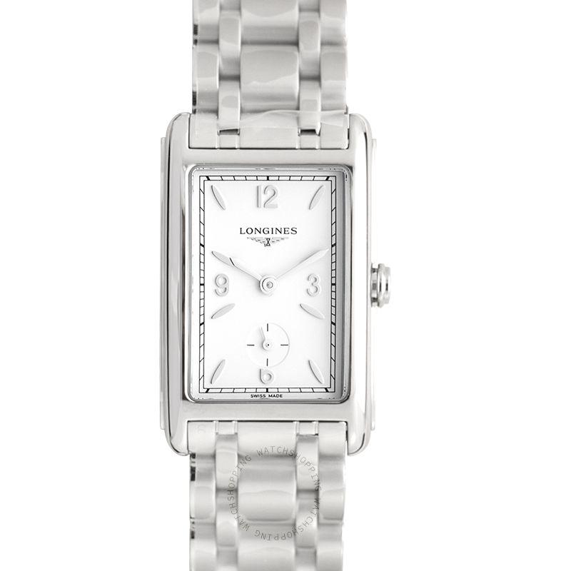 Longines DolceVita  Quartz White Matt Dial Watch L55124166