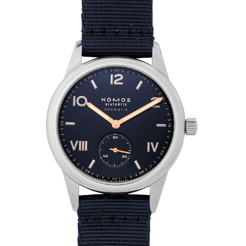 Nomos Glashütte Club Campus Neomatik 39 Midnight Blue Automatic Blue Dial 39.5mm Men's Watch 768