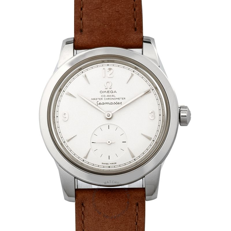Omega Seamaster 1948 Co-Axial Master Chronometer Small Seconds 38mm Automatic Silver Dial Steel Men's Watch 511.12.38.20.02.001