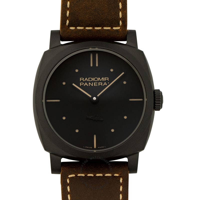 Panerai Radiomir Manual-winding Black Dial 48 mm Men's Watch