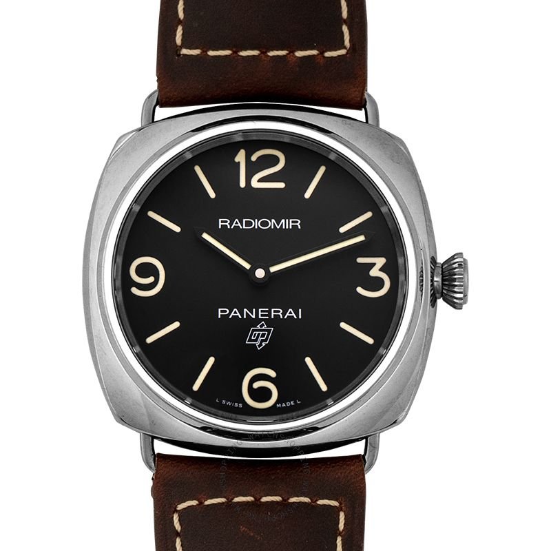Panerai Radiomir Base Logo Automatic Black Dial 45 mm Men's Watch PAM00753