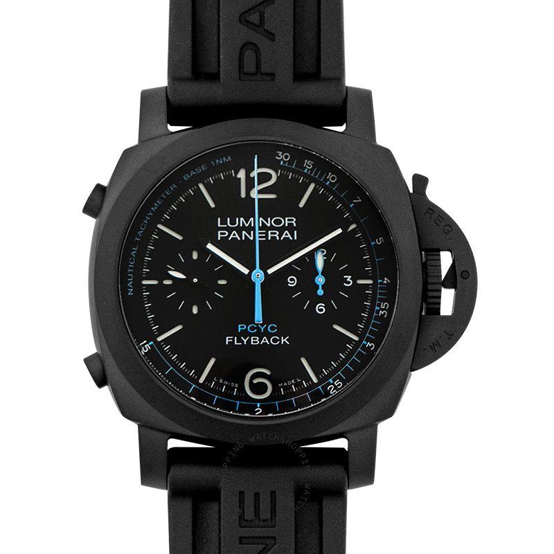 Panerai Luminor Yachts Challenge Automatic Black Dial 44 mm Men's Watch