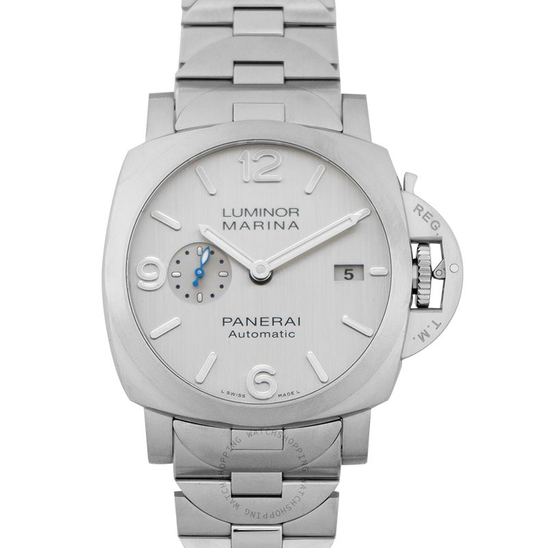 Panerai Luminor Marina Automatic Silver Dial 44 mm Unisex Watch
