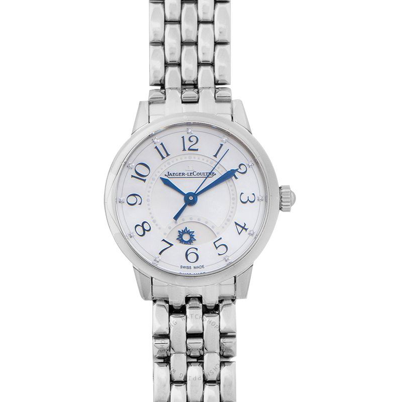 Jaeger LeCoultre Rendez-Vous Night & Day Small Automatic White Dial Ladies Watch Q3468110