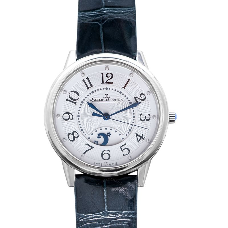 Jaeger LeCoultre Rendez-Vous Night & Day Large Automatic Silver Dial Ladies Watch Q3618490
