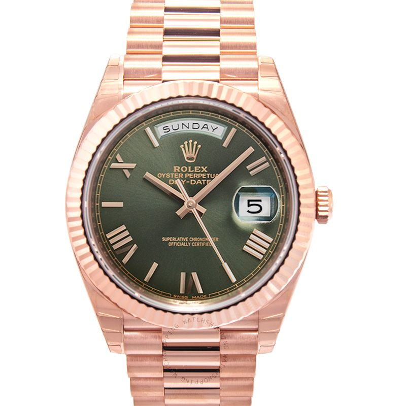 Rolex Day Date 228235 Olive Green