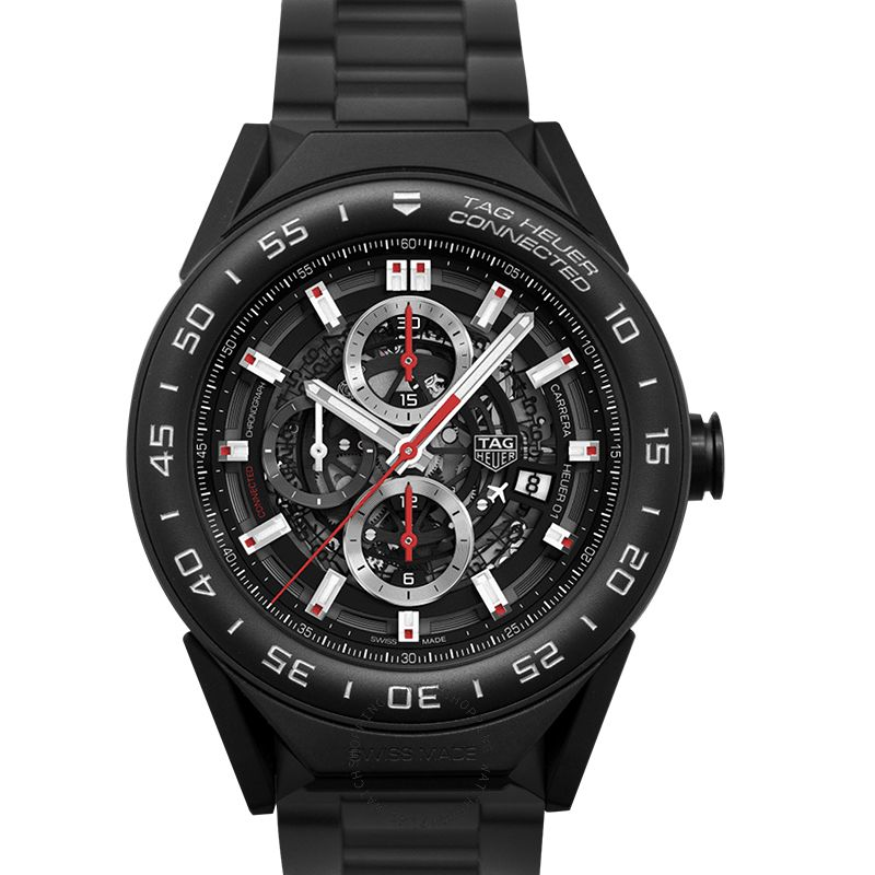 TAG Heuer Connected Modular Quartz Digital Dial Men's Watch SBF8A8013.80BH0933