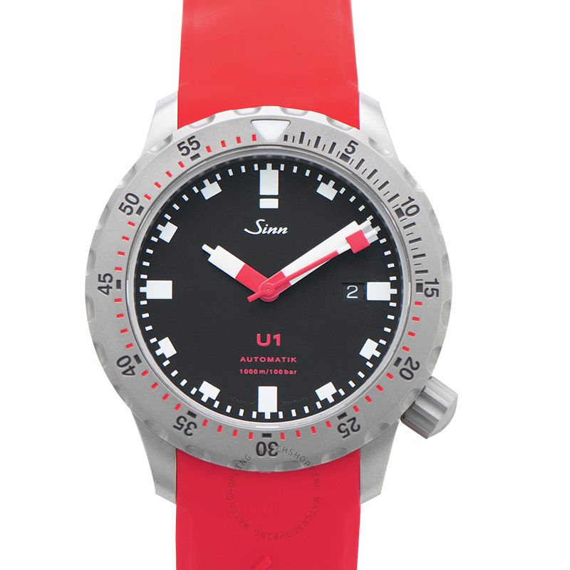 SINN Diving Watches 1010.010-Silicone-LFC-Red
