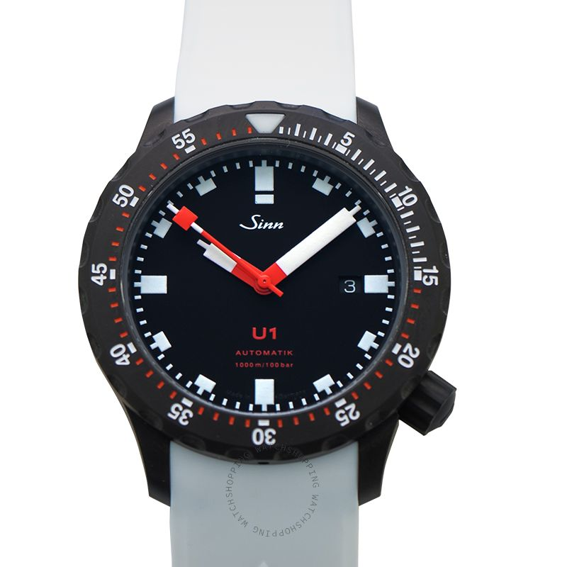 SINN Diving Watches 1010.020-Silicone-LFC-Wh
