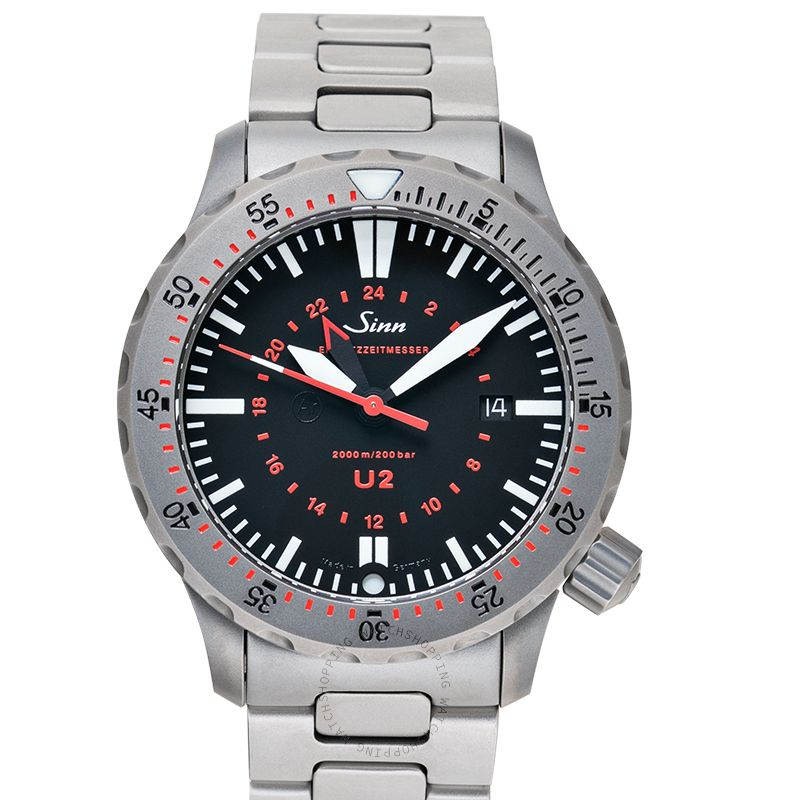 SINN Diving Watches 1020.010-Solid-2LSS