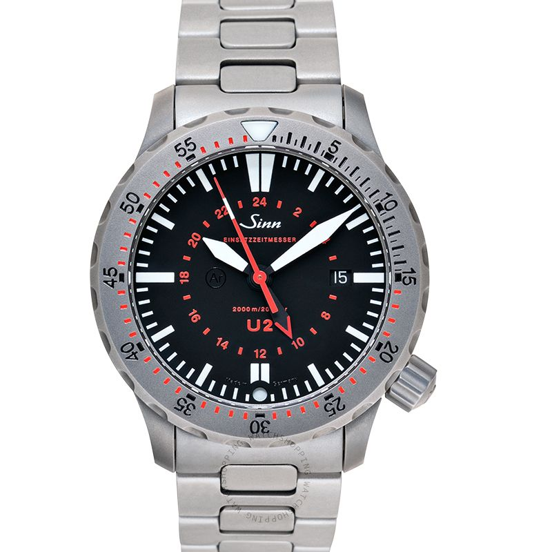 Sinn Diving Watches 1020.030-Solid-2LSS