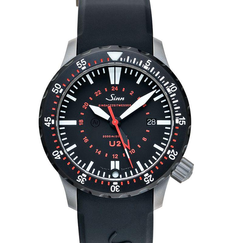 Sinn Diving Watches 1020.040-Silicone-LFC-Blk