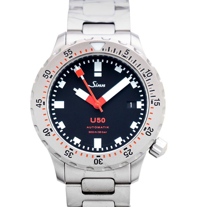 SINN Diving Watches 1050.010-Solid-2LSS
