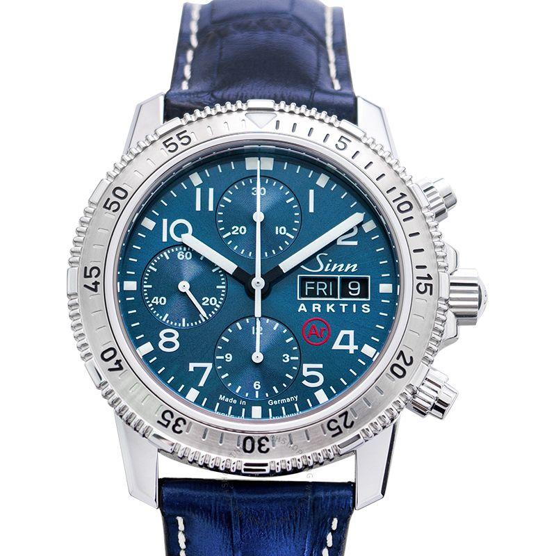 SINN Diving Watches 206.015-Leather-CAE-Blue