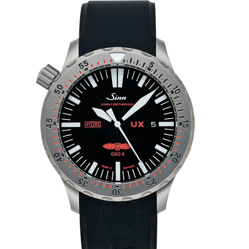 Sinn Diving Watches 403.031-Silicone-SFC-BK