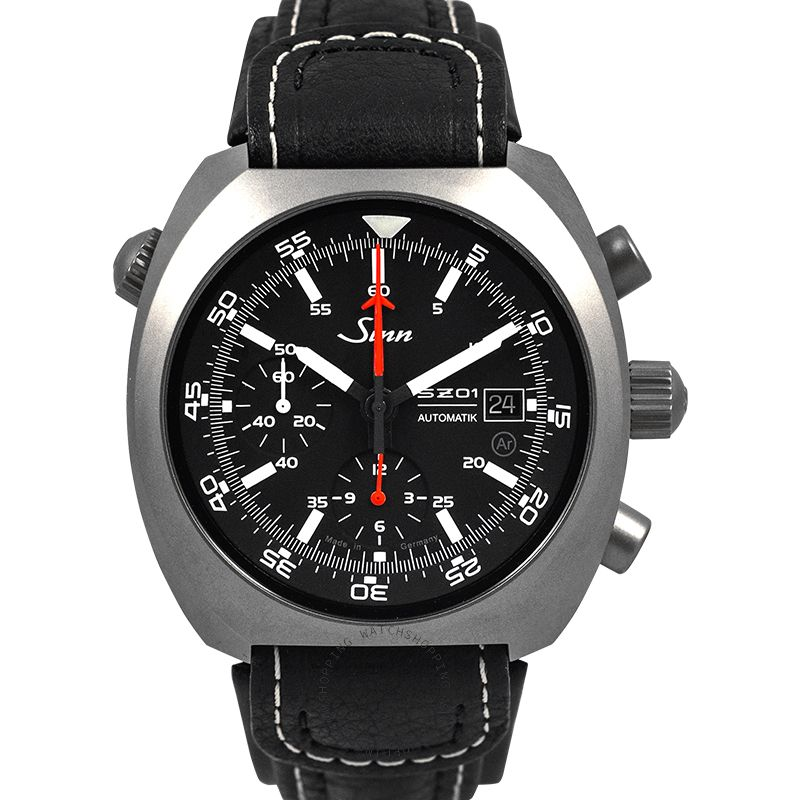 SINN Instrument Chronographs 140.020-Leather-Cowhide-Blk-CSW