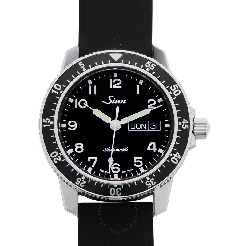 SINN Instrument Watches 104.011-Silicone-Blk