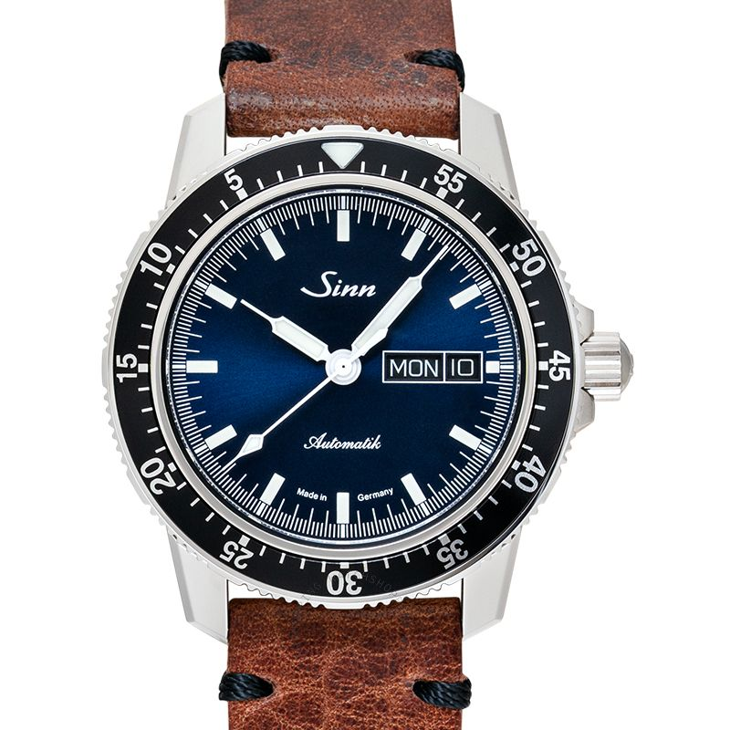 SINN Instrument Watches 104.013-Leather-Cowhide in Vintage-Style-DSB-Brown