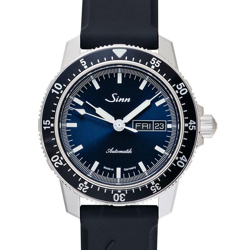SINN Instrument Watches 104.013-Silicone-blk