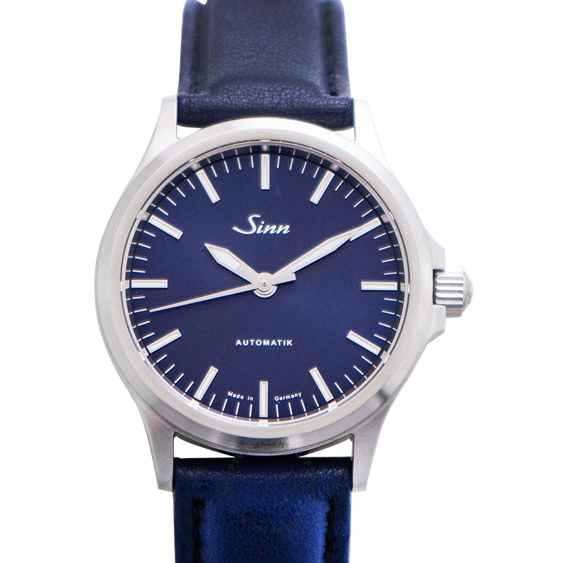 SINN Instrument Watches 556.0104-Leather-Cowhide-Blue