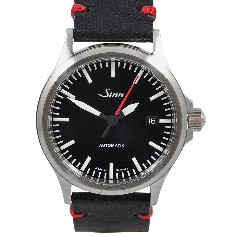 SINN Instrument Watches 556.0106-Leather-CIVS-Blk-DSR